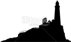 236x140 Vector Of Lighthouse Single Flat Icon Vector Illustration