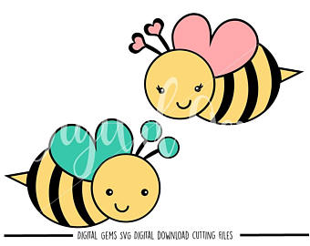 340x270 Bee Svg File Etsy