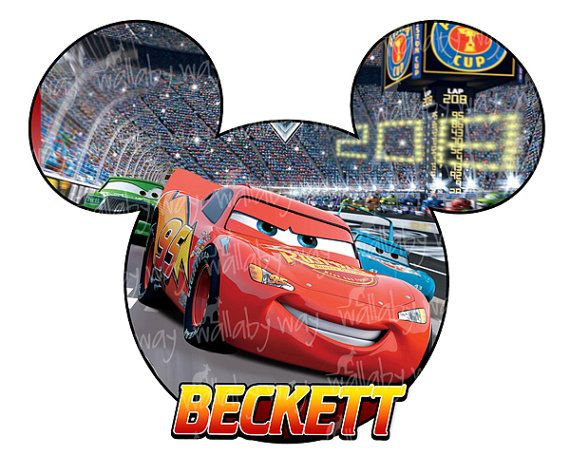 570x456 Disney Cars Lightning Mcqueen Printable Iron On Transfer Or Use As