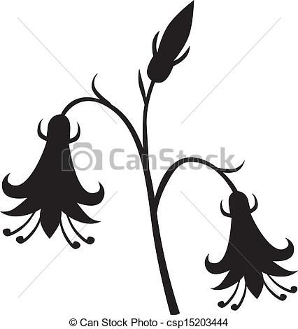426x470 Image Result For Flower Silhouette Printmaking