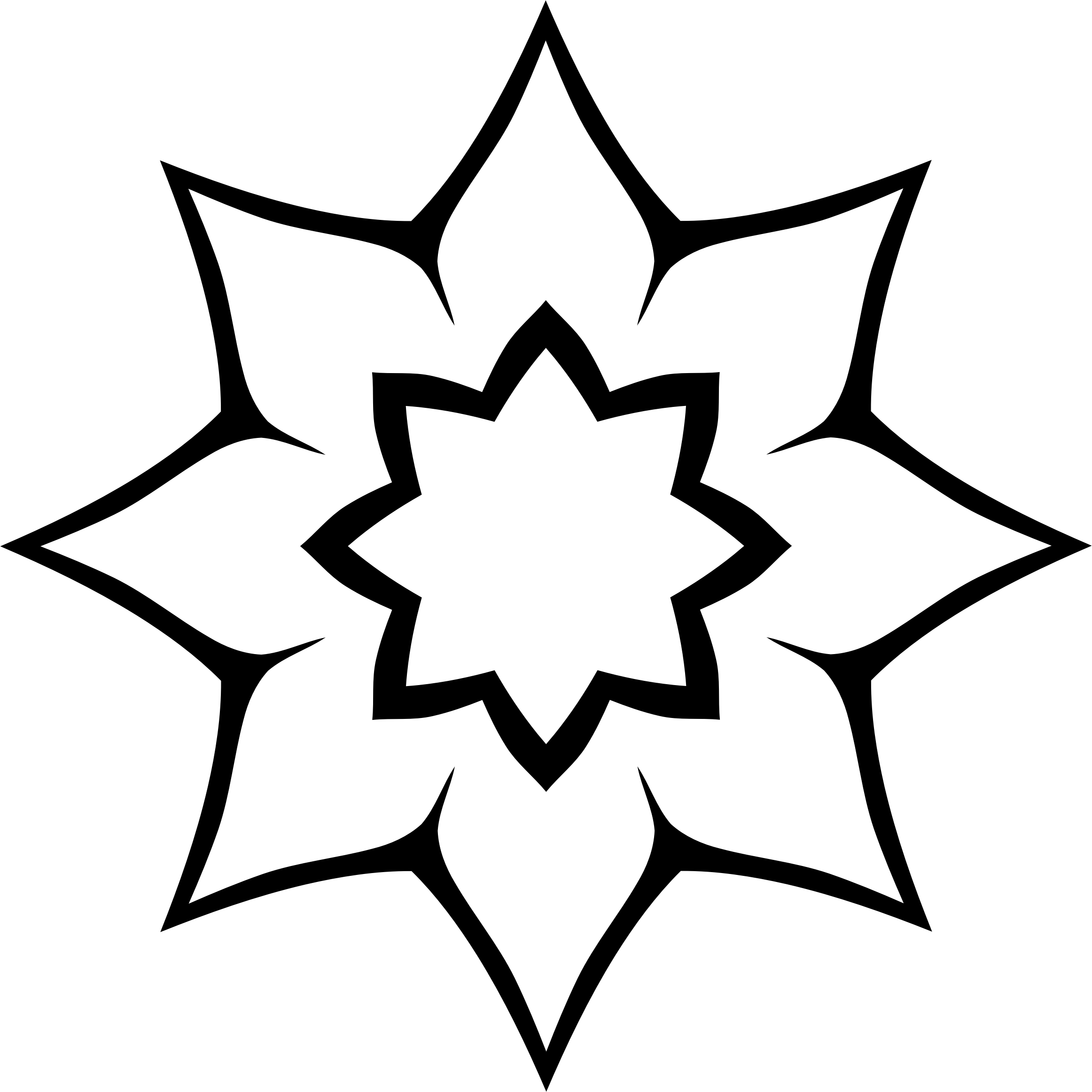 2324x2324 Silhouette Clipart Flower