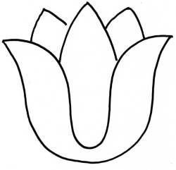 Lily flower silhouette at getdrawings free for personal use 250x241 clipart tulip silhouette clipartfest mightylinksfo