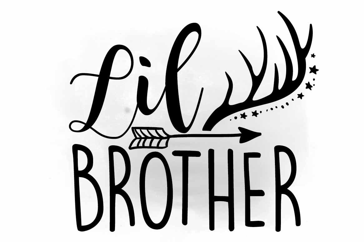 1165x776 Little Bro Svg Clipart, Lil Brother Svg Design Bundles