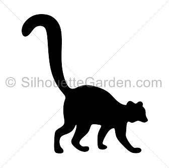 336x334 Lemur Silhouette Clip Art. Download Free Versions Of The Image