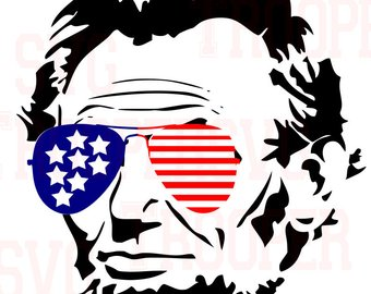 340x270 Lincoln Silhouette Etsy