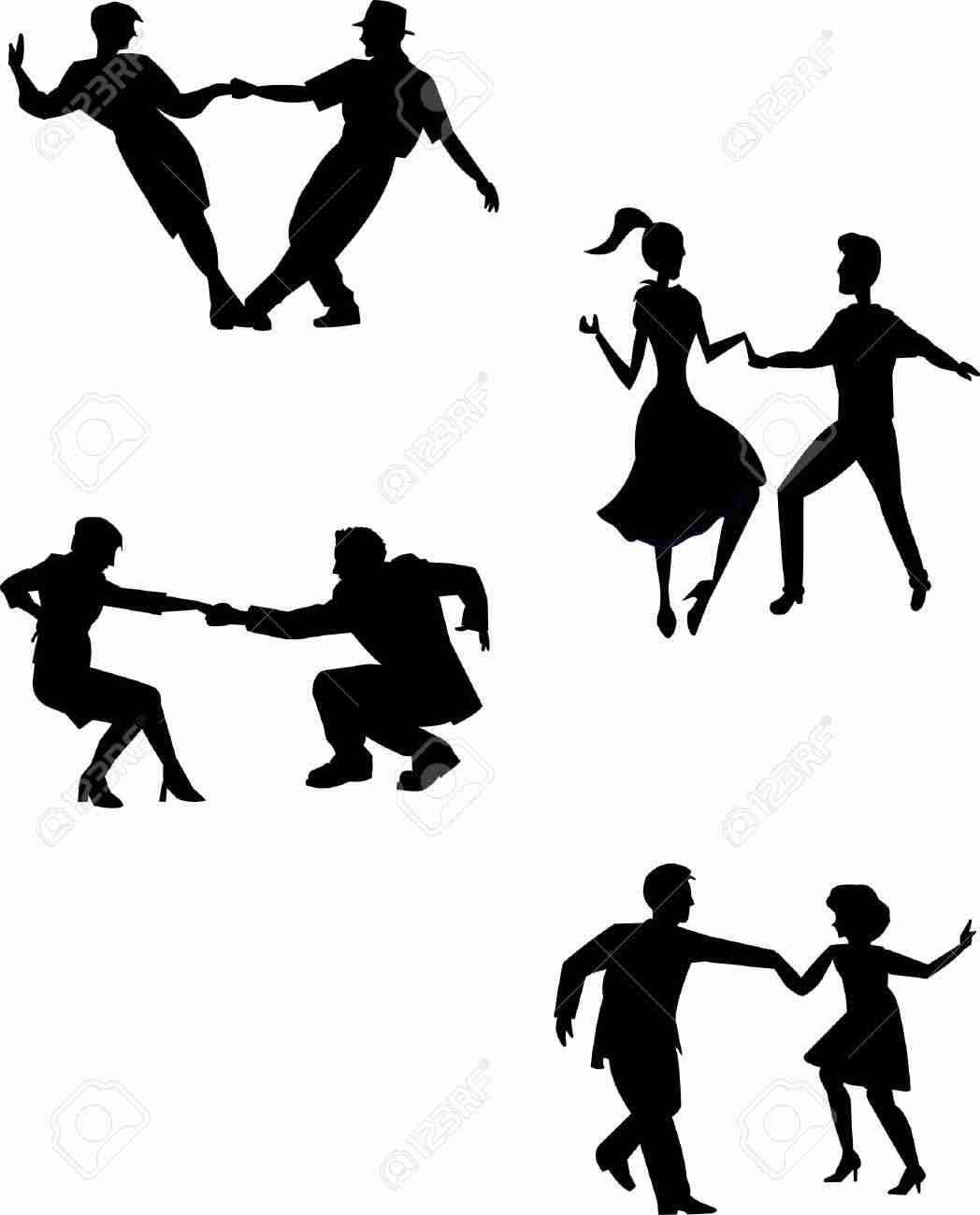 1048x1300 Clip Art Swing Dance Mesmerizing Dancer Silhouette Olegratiy