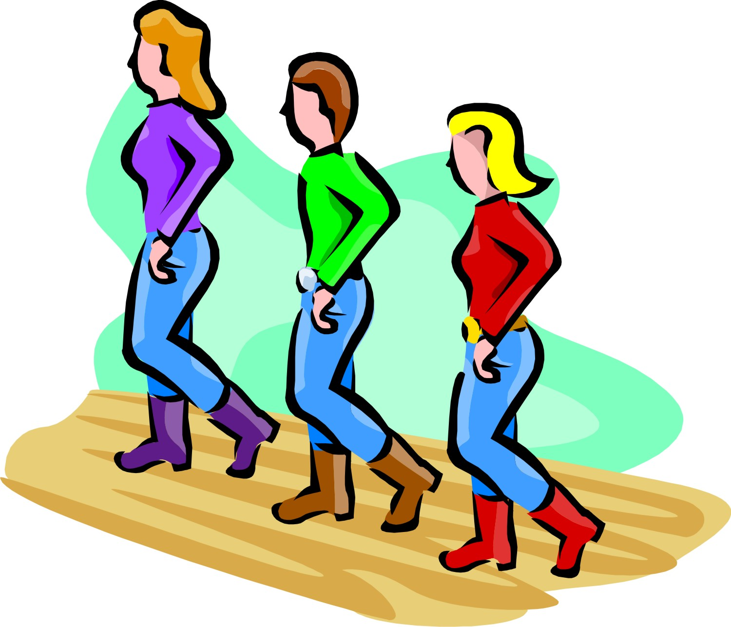 1500x1287 Line Dancing Free Clipart Kid 2