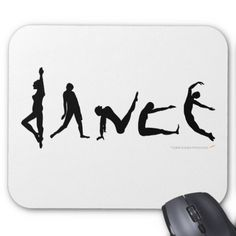 236x236 Live Love Line Dance Mouse Pad Dancer Mice