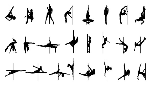 594x332 Pole Dancing Silhouette Pictures