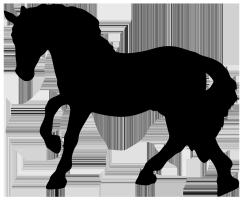 250x201 Horse Silhouette