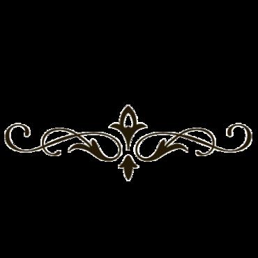 370x370 Wonderful Looking Fancy Line Butterfly Silhouette Stencil Clip Art