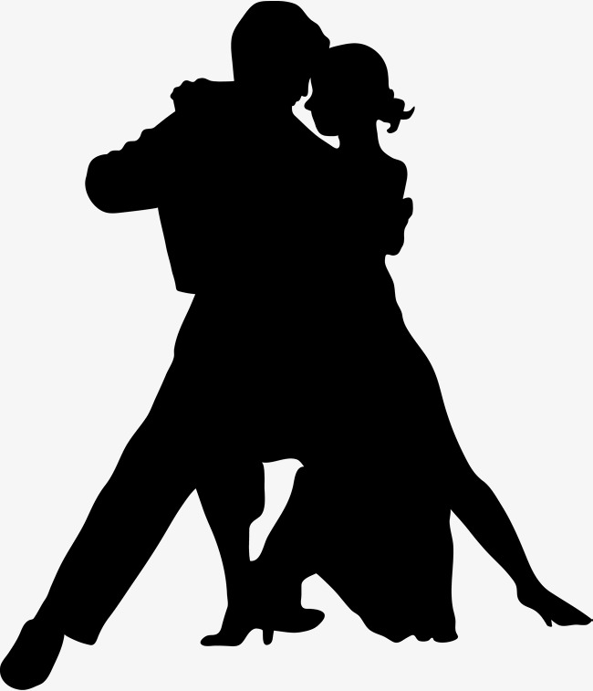 650x757 Dancing Lovers, Dancing Silhouette, Male Partner, Companion Png