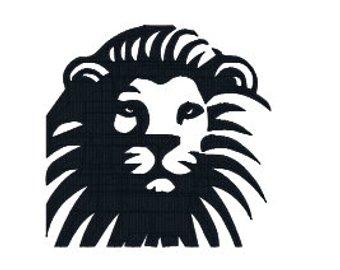 340x270 Lion Head Face Etsy