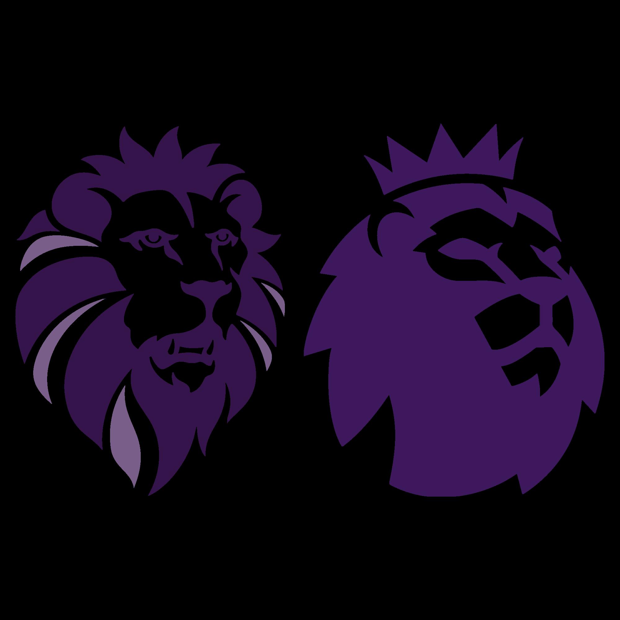 2000x2000 Ukip New Logo Premier League Lions Head Vector Logo Free Vector
