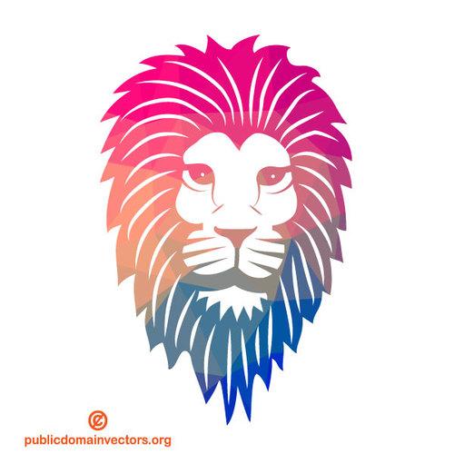 500x500 Lion Color Silhouette Public Domain Vectors