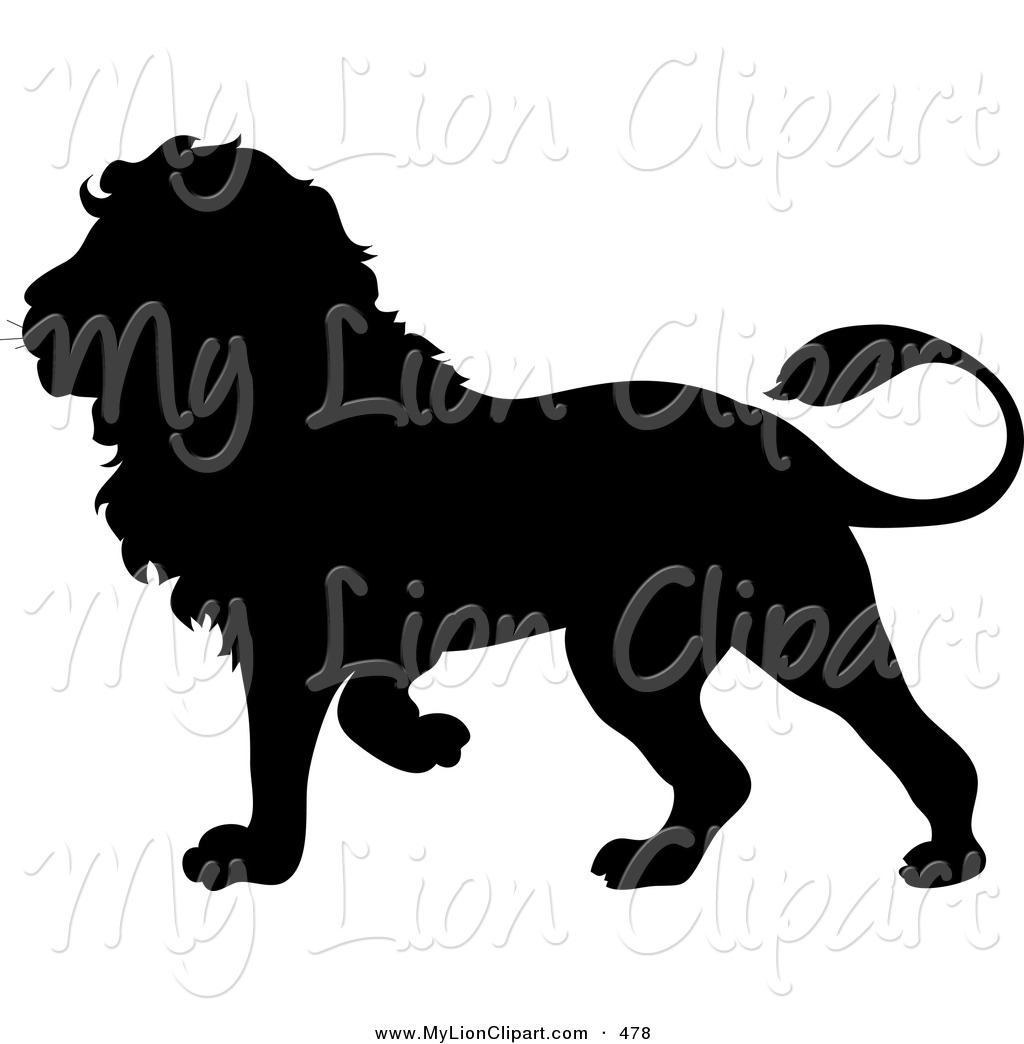 1024x1044 White Lion Clipart Silhouette Many Interesting Cliparts