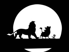 236x178 Svg File For Silhouette Cameo. Lion King