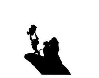 340x270 Simba Silhouette Etsy