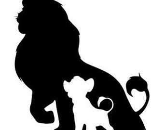 340x270 Lion King Decal Etsy