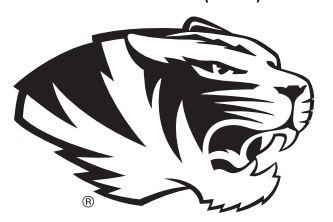 333x222 University Of Missouri Tiger Black Amp White Logo. Add This Logo