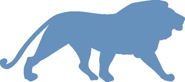 600x267 Lion Silhouette Clip Art