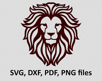 340x270 Lion Vector Etsy