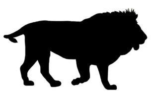 304x190 Dare Lion Clip Art N2 Free Image