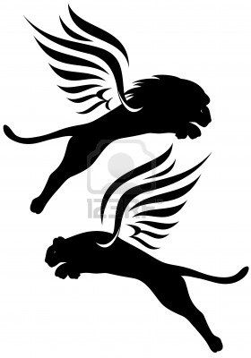 Lioness Silhouette