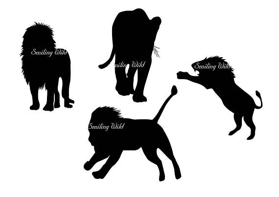 570x403 Lion Silhouette Clipart Family Svg Savannah Lion Cub Art Svg