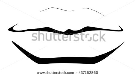 450x254 Lips Clipart Line Drawing Many Interesting Cliparts