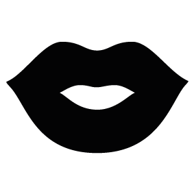 lips silhouette at getdrawings com free for personal use lips