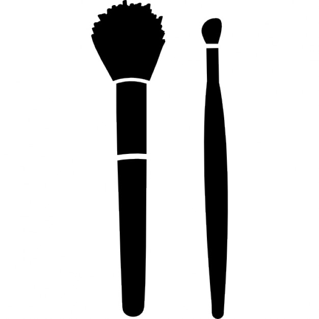626x626 Make Up Brushes For Blush And Lipstick Icons Free Download