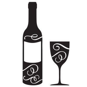 Liquor Bottle Silhouette
