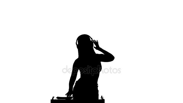 608x342 Girl With Headphones Silhouette
