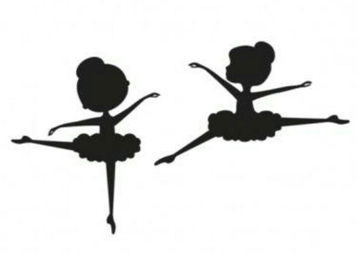 Little Ballerina Silhouette At GetDrawings.com