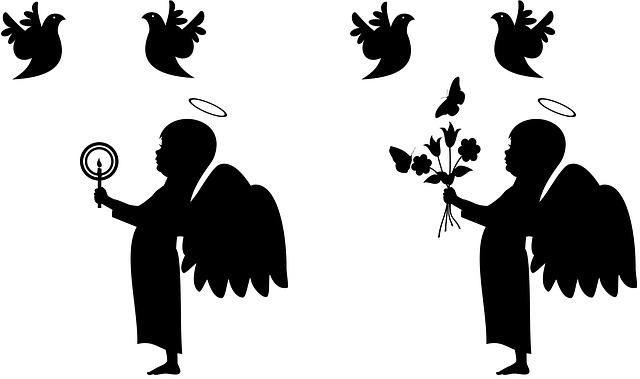 640x379 Free Photo Butterflies Girl Hearts Dark Female Couple Boy