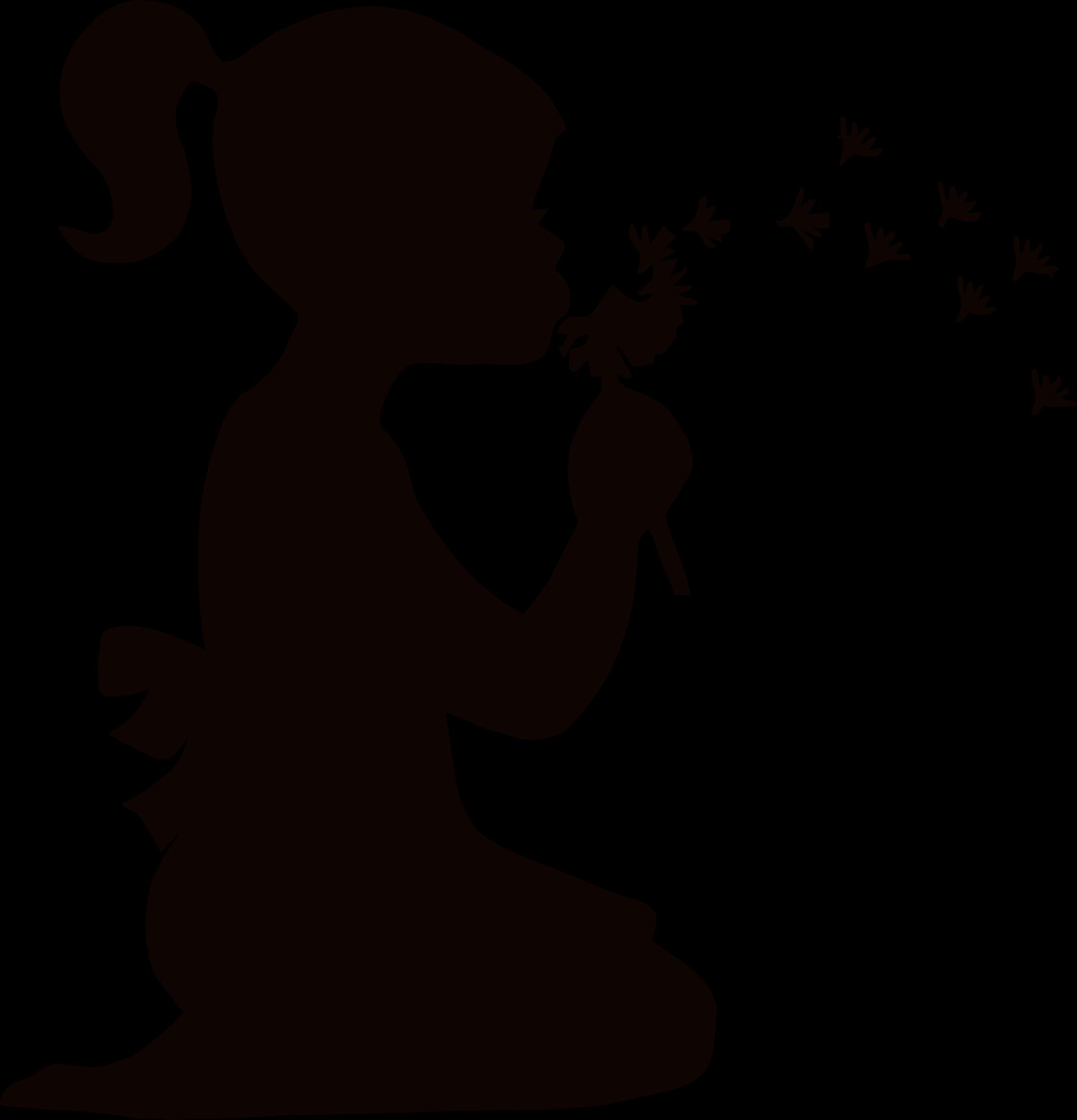 2244x2334 Girl Dispersing Dandelions Icons Png