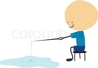 320x224 Doodlle Little Boy Fishing