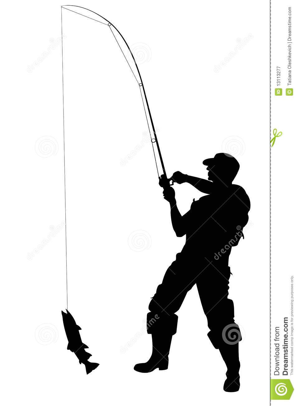 957x1300 Fisherman Clipart Fishing Reel
