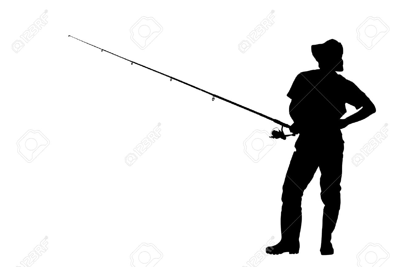 1300x866 Fishing Silhouette By Hussain Isa. Angler Silhouette. Zoom. Pin