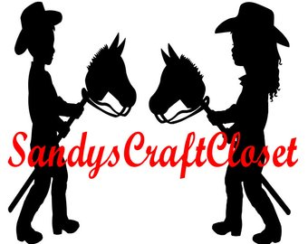 340x270 Little Cowgirl Svg Etsy