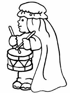 Little Drummer Boy Silhouette