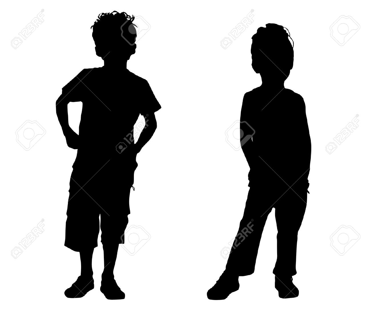 1300x1092 Boy Thinking Silhouette