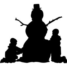 236x236 Large Drummer Boy Silhouette Unmounted Rubber Stamp