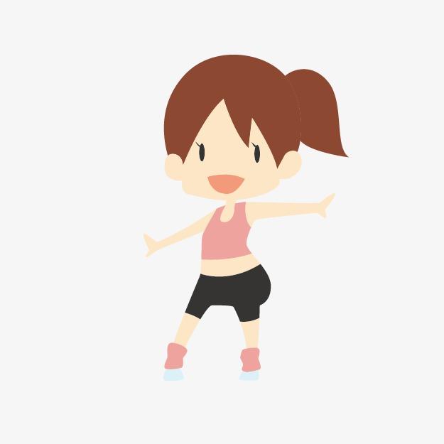 625x625 Cartoon Character Villain Vector Image,the Little Girl Dancing