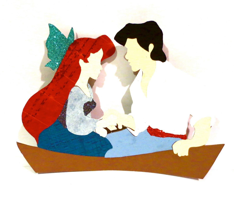1500x1264 Kiss The Girl Silhouette 4.the Little Mermaid Girl