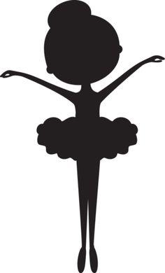 236x390 Little Girl Ballerina Clipart Black And White