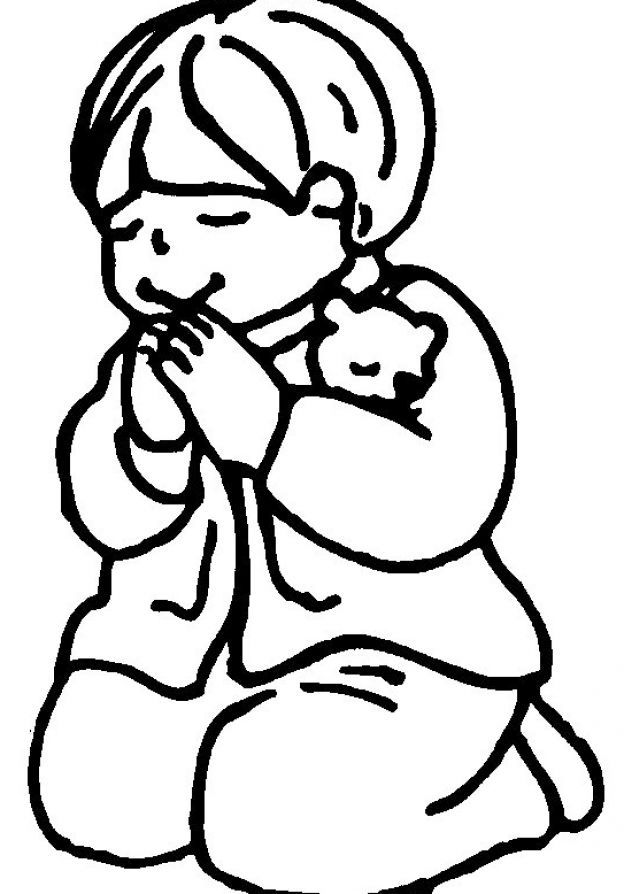 624x894 Little Boy And Girl Praying Clipart Collection