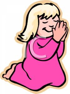 224x300 Free Clipart Little Girl Praying