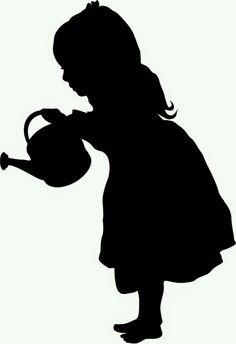 236x344 Little Girl Silhouette 1s Silhouettes 2 Girl